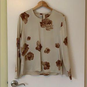 Regina Reubens   Floral silky blouse